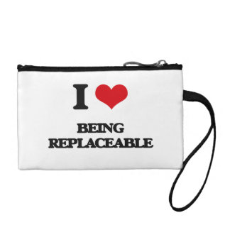 I Love Being Replaceable Coin Purse