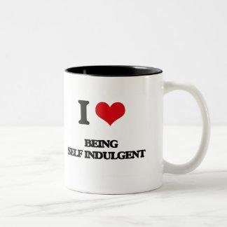 I Love Being Self-Indulgent Mug