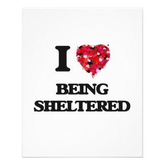 I Love Being Sheltered 11.5 Cm X 14 Cm Flyer