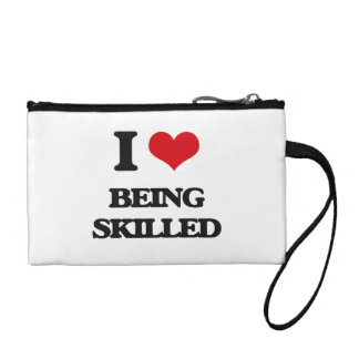 I Love Being Skilled Coin Purse