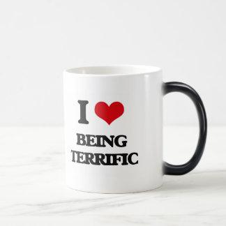 I love Being Terrific Mugs