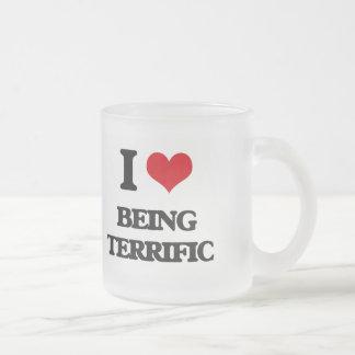 I love Being Terrific Coffee Mugs