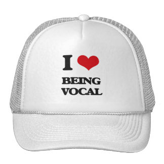 I love Being Vocal Mesh Hat