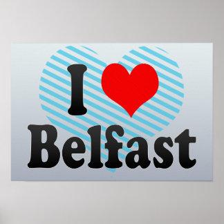 I Love Belfast, United Kingdom Print