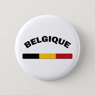 I Love Belgium 6 Cm Round Badge