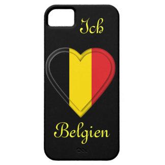 I love Belgium - Ich liebe Belgien - in German Barely There iPhone 5 Case