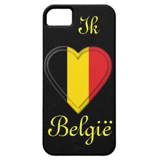 I love Belgium - Ik hou van België - in Dutch Barely There iPhone 5 Case