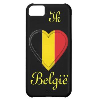 I love Belgium - Ik hou van België - in Dutch iPhone 5C Case