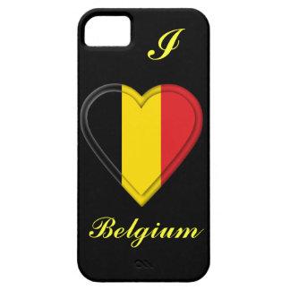 I love Belgium iPhone 5 Cases