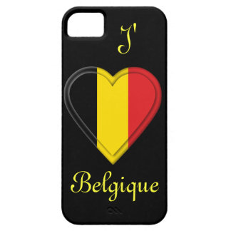I love Belgium - J'aime Belgique - in French iPhone 5 Cover