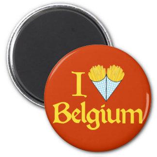I Love Belgium Magnet