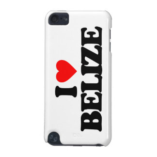 I LOVE BELIZE iPod TOUCH (5TH GENERATION) COVER