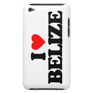 I LOVE BELIZE BARELY THERE iPod CASES