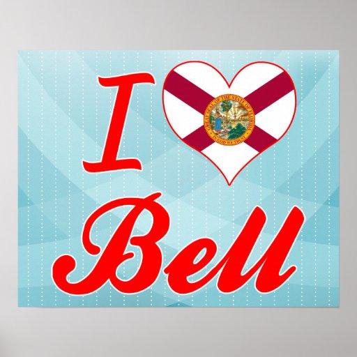 I Love Bell, Florida Poster