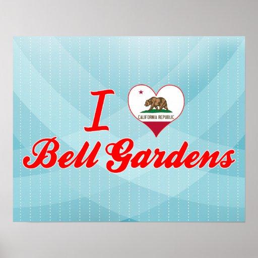I Love Bell Gardens, California Print