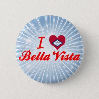 I Love Bella Vista, Arkansas 6 Cm Round Badge