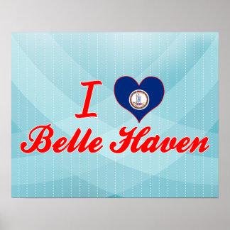 I Love Belle Haven, Virginia Poster