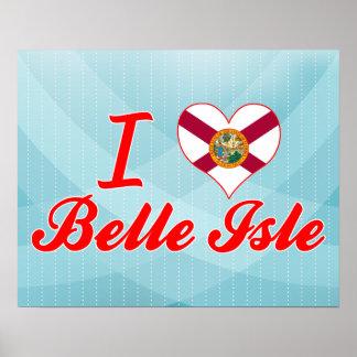 I Love Belle Isle Florida Print