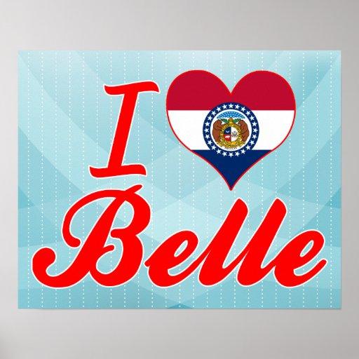 I Love Belle, Missouri Poster