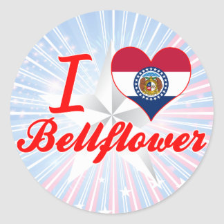 I Love Bellflower, Missouri Stickers