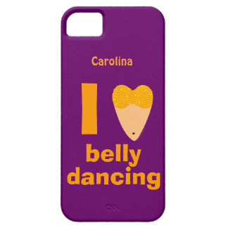 I Love Bellydancing Dancer Custom Name iphone 5 iPhone 5 Covers