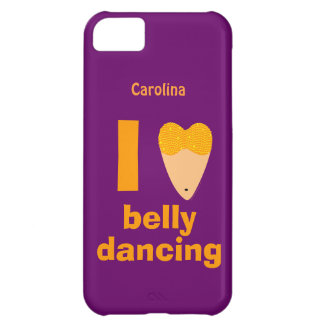 I Love Bellydancing Dancer Custom Name iphone 5 iPhone 5C Case