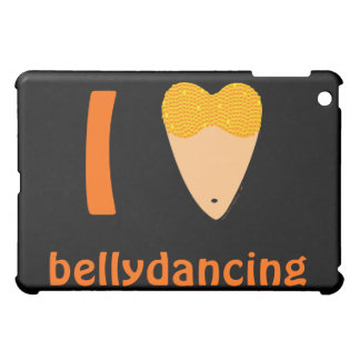 I Love Bellydancing Dancer Torso (I Heart) iPad Mini Covers
