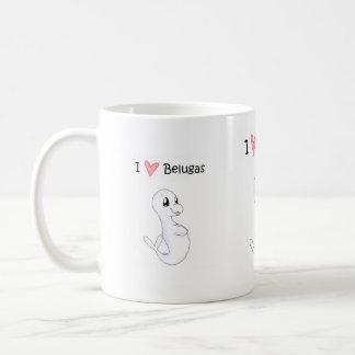 I Love Belugas Mug