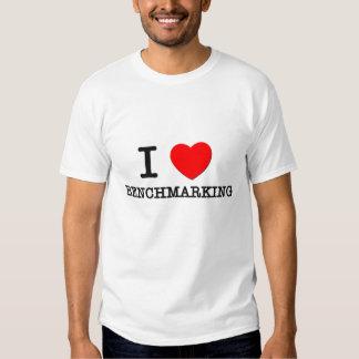 I Love Benchmarking T-shirt