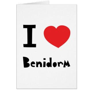 I love Benidorm Card