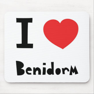 I love Benidorm Mouse Mat