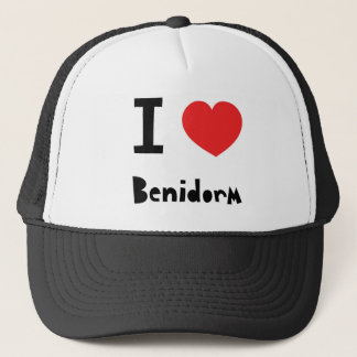 I love Benidorm Trucker Hat