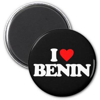 I LOVE BENIN MAGNET