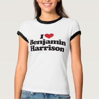 I Love Benjamin Harrison T-Shirt