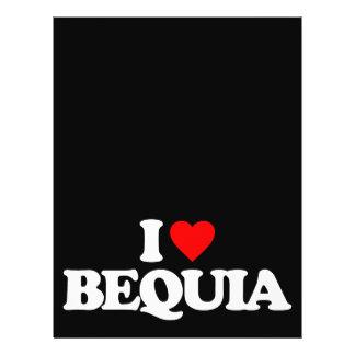 I LOVE BEQUIA FULL COLOR FLYER