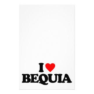 I LOVE BEQUIA CUSTOM FLYER