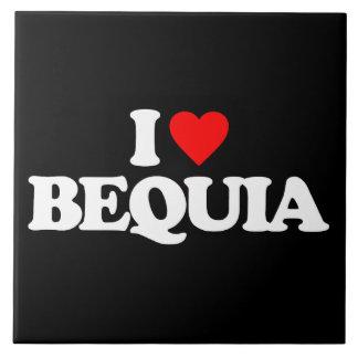 I LOVE BEQUIA TILES