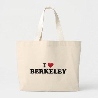 I Love Berkeley California Jumbo Tote Bag