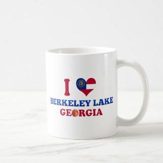 I Love Berkeley Lake, Georgia Basic White Mug