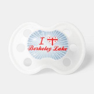 I Love Berkeley Lake, Georgia Baby Pacifier