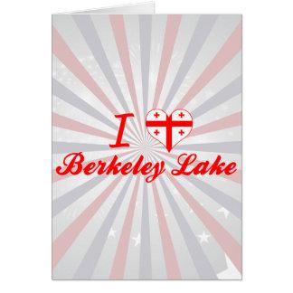 I Love Berkeley Lake Georgia Greeting Cards