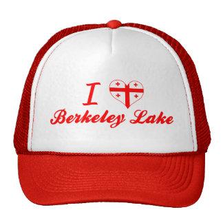 I Love Berkeley Lake, Georgia Mesh Hats