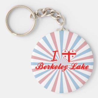 I Love Berkeley Lake, Georgia Key Chain