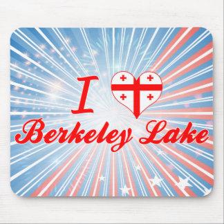 I Love Berkeley Lake Georgia Mouse Pads