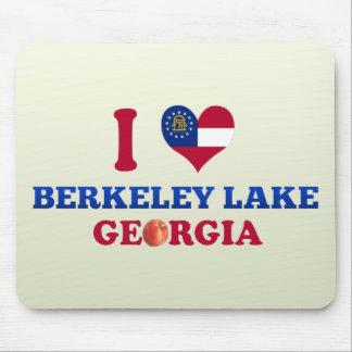I Love Berkeley Lake Georgia Mousepads