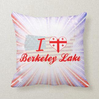 I Love Berkeley Lake Georgia Pillows