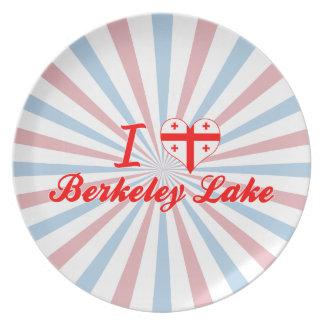 I Love Berkeley Lake, Georgia Dinner Plates