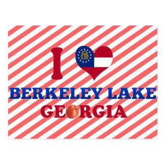 I Love Berkeley Lake Georgia Postcards