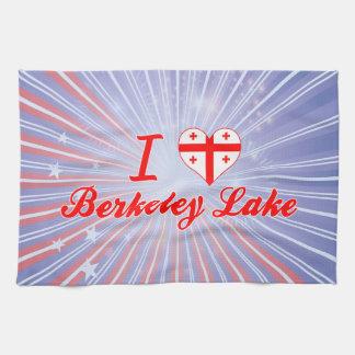 I Love Berkeley Lake, Georgia Towel