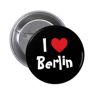 I Love Berlin 6 Cm Round Badge